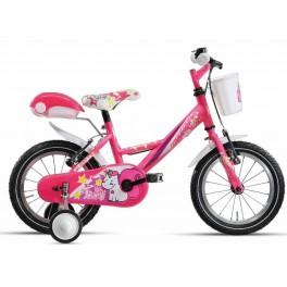 """Bicicletta bimba 16"""" Fluffy"""