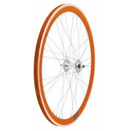 Ruote Fixed Incrocio 4x9 Arancio