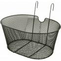 Cestino rete metallica con ganci