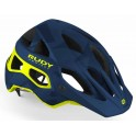 Casco Rudy Project  Protera Blue Camo Yellow Fluo