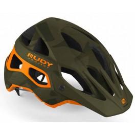 Casco Mtb Rudy Project  Protera Green Camo Orange