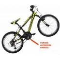 "Bicicletta Mtb 20"" Spidy"