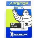 Camera d'aria 26 C2 Presta Michelin Airstop