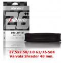 Camera d'aria Vittoria Standard V.48 Shrader 27.5x2.50/3.00