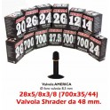Camera 28x5/8x3/8 (700x35-44) Shrader Kenda