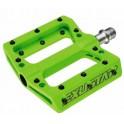 Pedali Flat Exustar Easy Verde