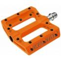 Pedali Flat Exustar Easy Arancio